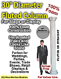 "Foam Column Prop 30"" Diameter"