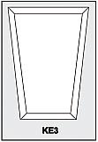 KE3 - Architectural Foam Shape - Keystone