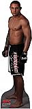 Thiago Silva - UFC Cardboard Cutout Standup Prop