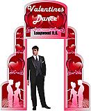 Valentine's Entrance Cardboard Prop