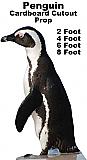 Penguin Cardboard Cutout Standup Prop