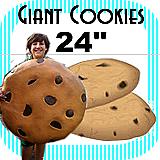 """Big Giant Cookie Foam Prop 24"""""""