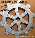 12 Inch Big Foam Gear-B Prop