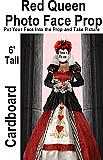 Red Queen Photo Face Cardboard Prop