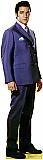 Elvis Blue Jacket - Elvis Cardboard Cutout Standup Prop