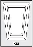 KE2 - Architectural Foam Shapes - Keystone
