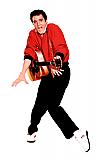 Elvis Orange Jacket - Elvis Cardboard Cutout Standup Prop