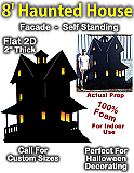 Giant Haunted House Foam Prop