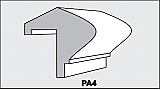 PA4 - Architectural Foam Shape - Parapets & Caps