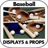 Baseball Cardboard Cutout Standup Props