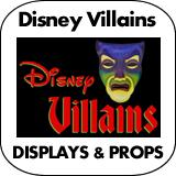 Disney Villains Cardboard Cutout Standup Props