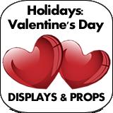 Holidays: Valentine's Day Cardboard Cutouts