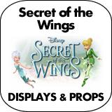 Secret of the Wings Cardboard Cutout Standup Props