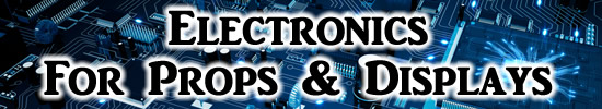 Electrons for props displays and Halloween decor