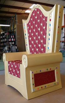 Throne Chair Foam Prop - Santa