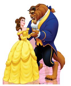 Belle and Beast - Disney Classics Cardboard Cutout Standup Prop