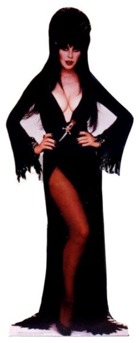 Elvira - Halloween Cardboard Cutout Standup Prop