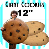 Big Giant Cookie Foam Prop 12""