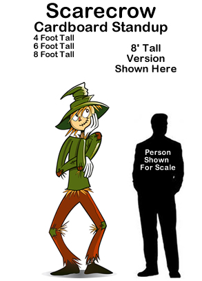Scarecrow - Wizard of Oz Cardboard Cutout Standup Prop