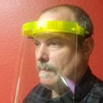 DRPS Face Shield Protective Device - Corona COVID19 Virus & Work Hazards