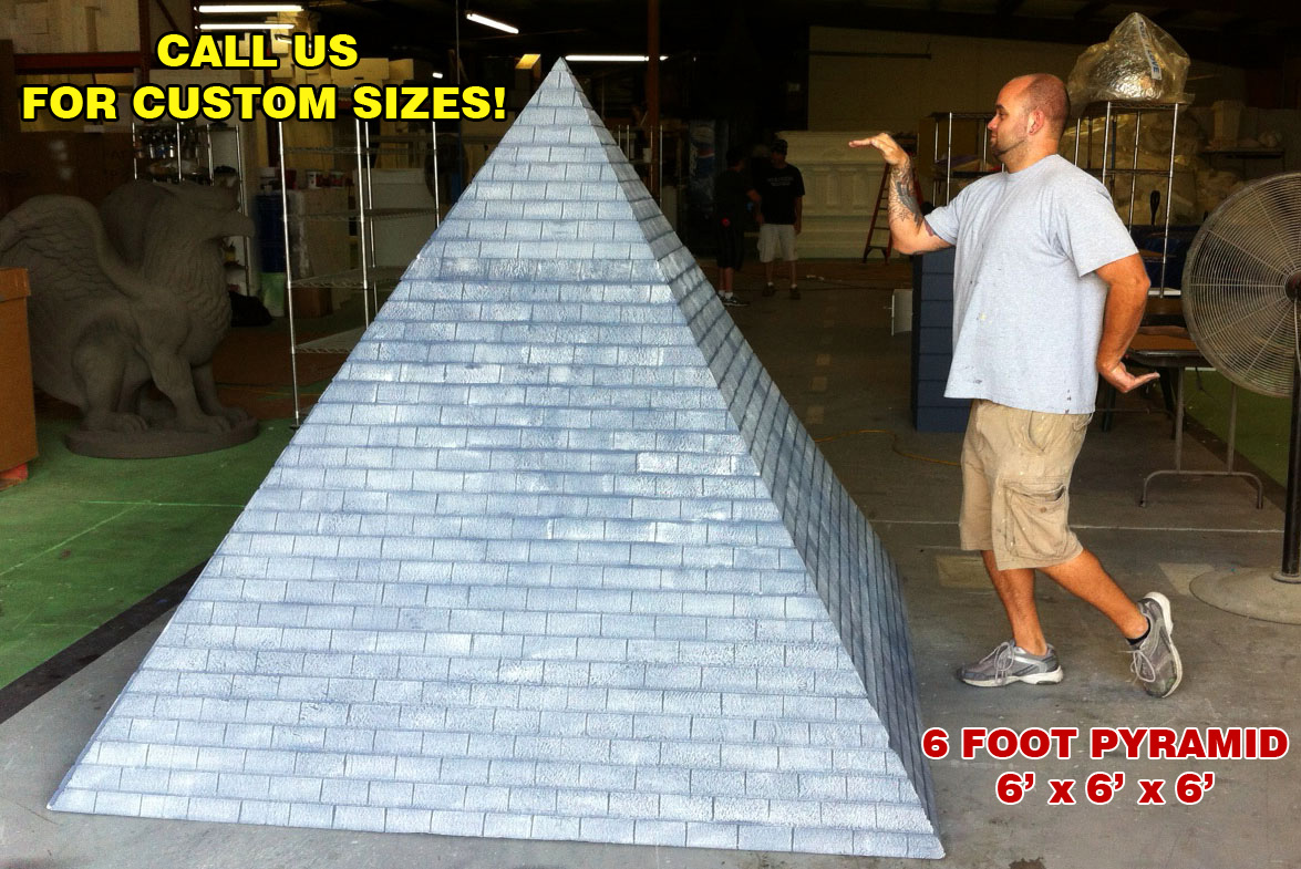 Eqyptian Pyramid Foam Display Prop