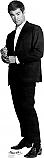 Bruce Lee Suit - Bruce Lee Cardboard Cutout Standup Prop