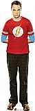 Sheldon 2 - The Big Bang Theory Cardboard Cutout Standup Prop