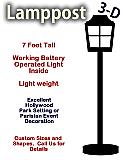 Foam Lamp Post Prop