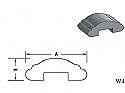 W4 - Architectural Foam Shape - Wall Cap