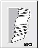 BR3 - Architectural Foam Shape - Bracket