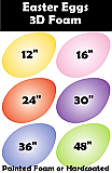 Giant Foam Easter Egg