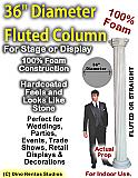 "Foam Column Prop 36"" Diameter"