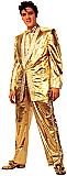 Elvis Gold Tuxedo - Elvis Cardboard Cutout Standup Prop