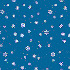 """Cardboard Roll - WinterFlakes - 48"""" x 25'"""