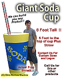 Giant/Big Soda Cup Prop
