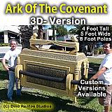 Ark Of The Covenant Full 3D Foam Prop