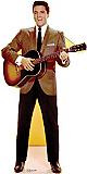 Elvis Brown Jacket - Elvis Cardboard Cutout Standup Prop