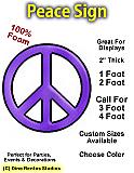 Big Foam Peace Sign Prop