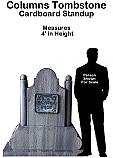 Tombstone Columns Cutout Standup Prop