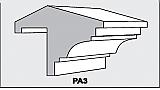 PA3 - Architectural Foam Shape - Parapets & Caps