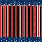 """Cardboard Roll - Stars and Stripes - 48"""" x 25'"""