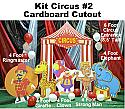 Circus Kit #2 Cardboard Cutout Standup Prop